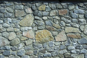 Rubble masonry texture. №12852