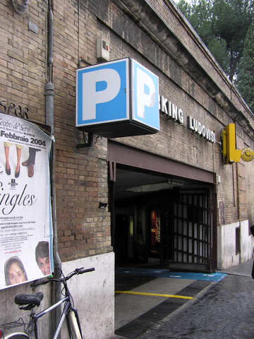 Entrance to the underground parking №12562