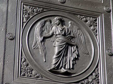 The bas-relief on the doors №12142