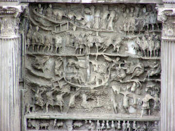 Bas-relief of Rome №12610