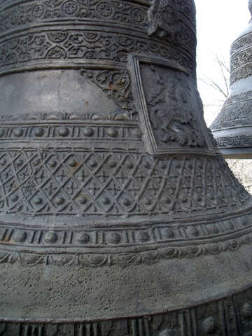 The pattern on the bell №12222