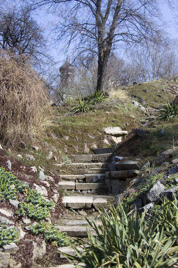Steps to the temple №12836