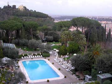 Pool Hotel in Rome №12367