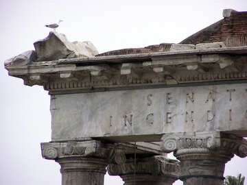 Las ruinas de la antigua Roma №12344