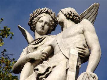 Skulptur der Göttin des Sieges №12126