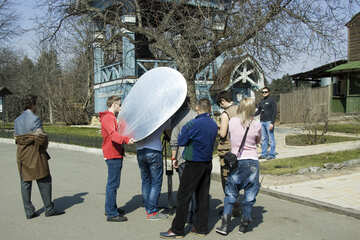 Shooting of the film №12788
