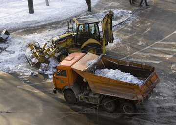 Cleaning the roads from snow №12673