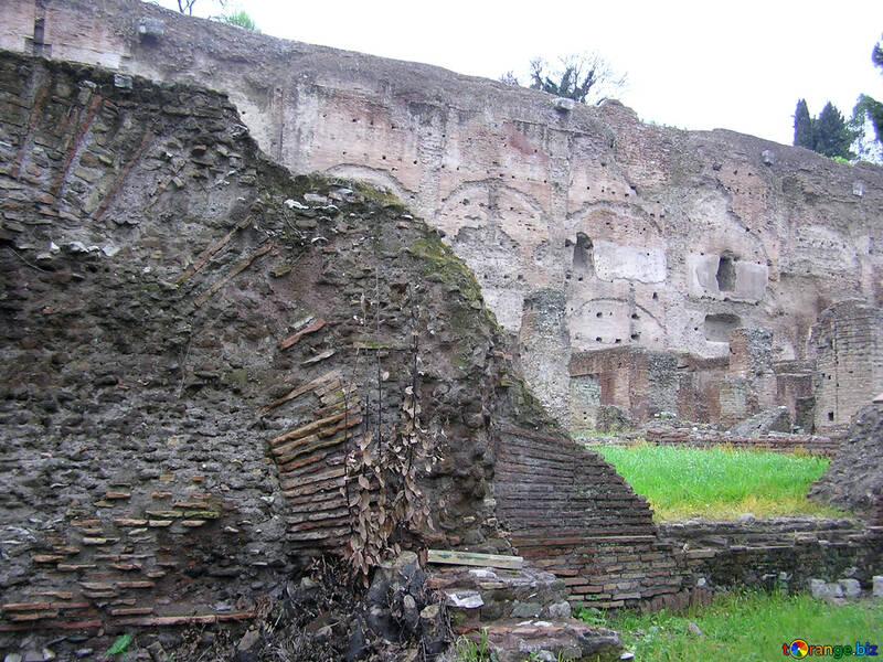 Ancient wall №12413