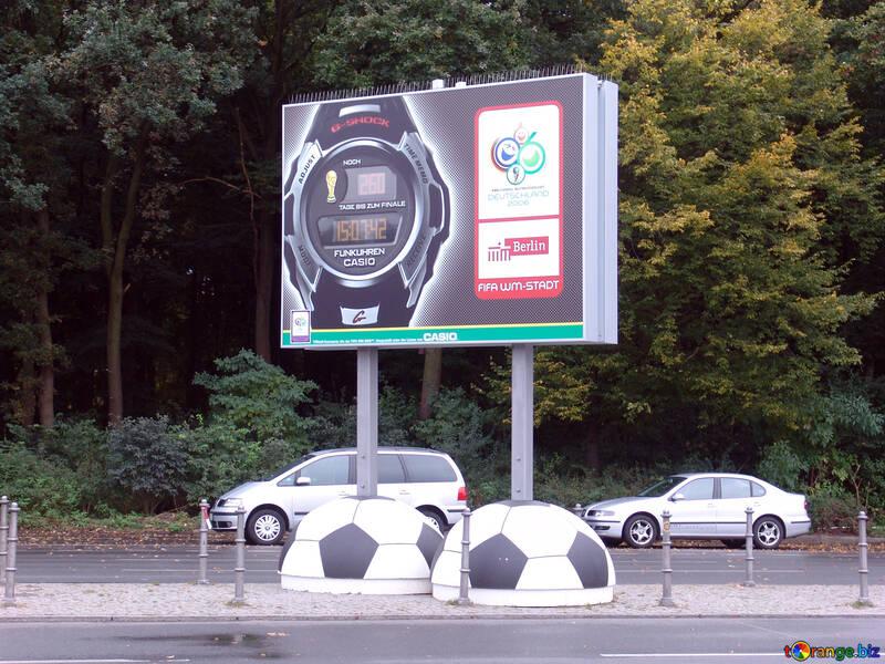 Advertising sports watch №12097