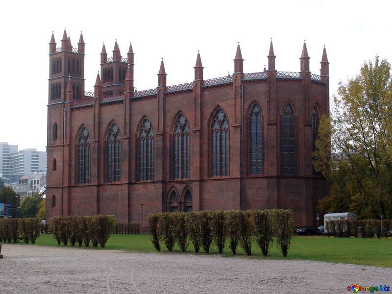 Neo-Gothic church in Berlin №12036