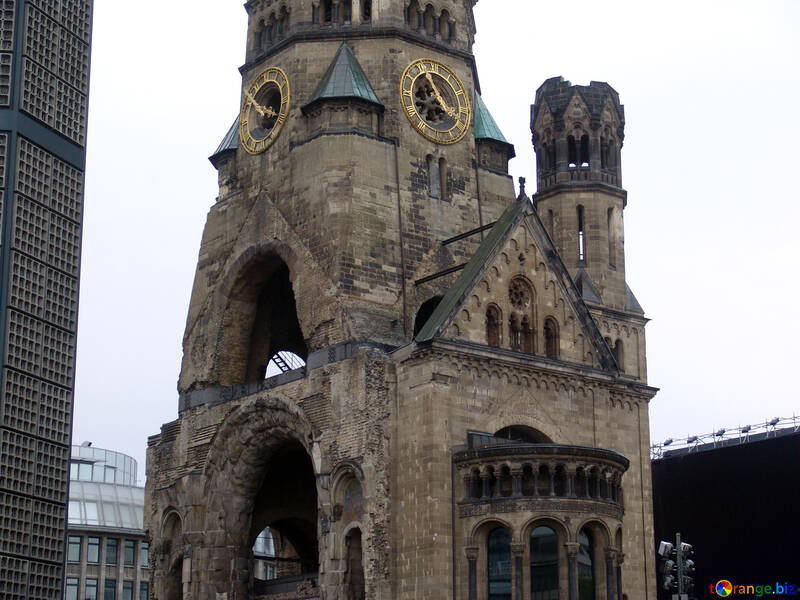 Ruined church in Berlin №12087