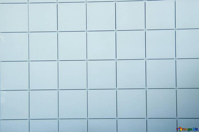 Texture.Glazed clay tiles. White. №12799