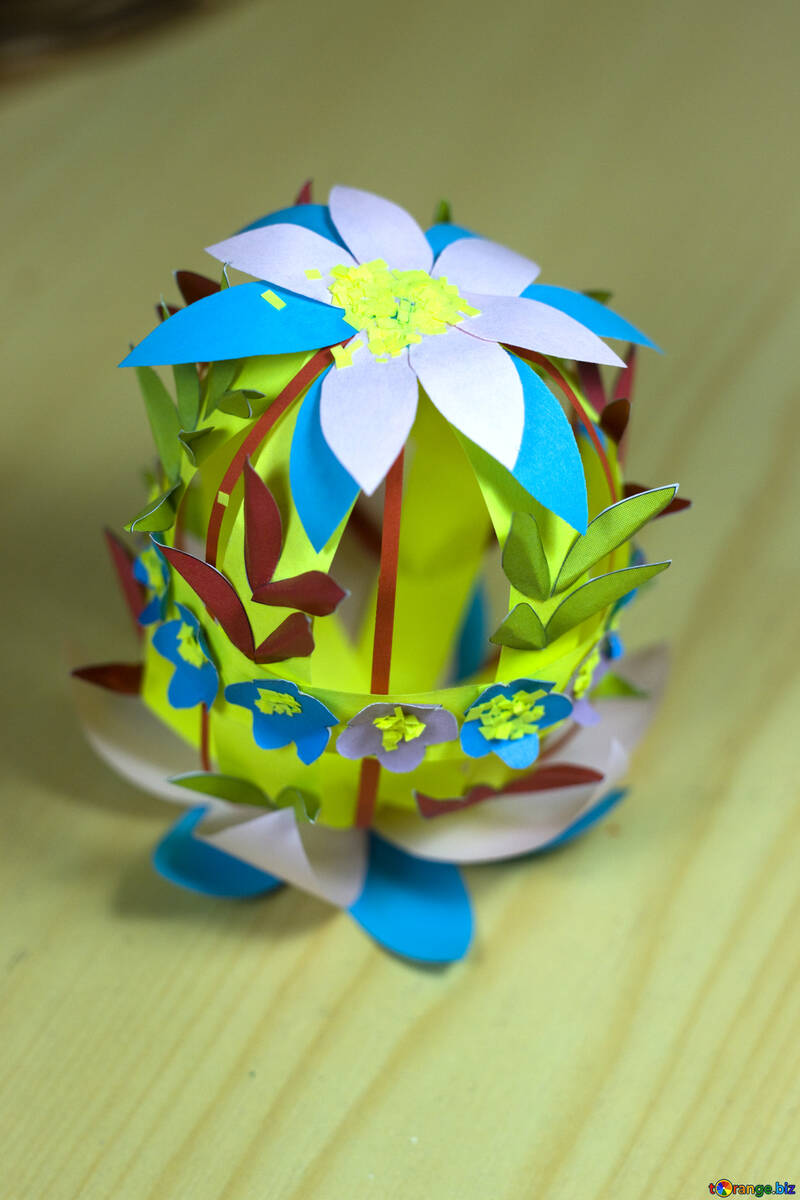 Easter crafts from paper №12269