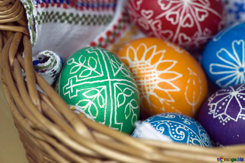 Eggs in basket №12265