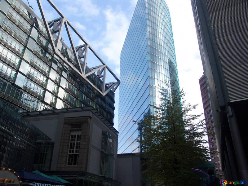 Glass skyscraper №12158