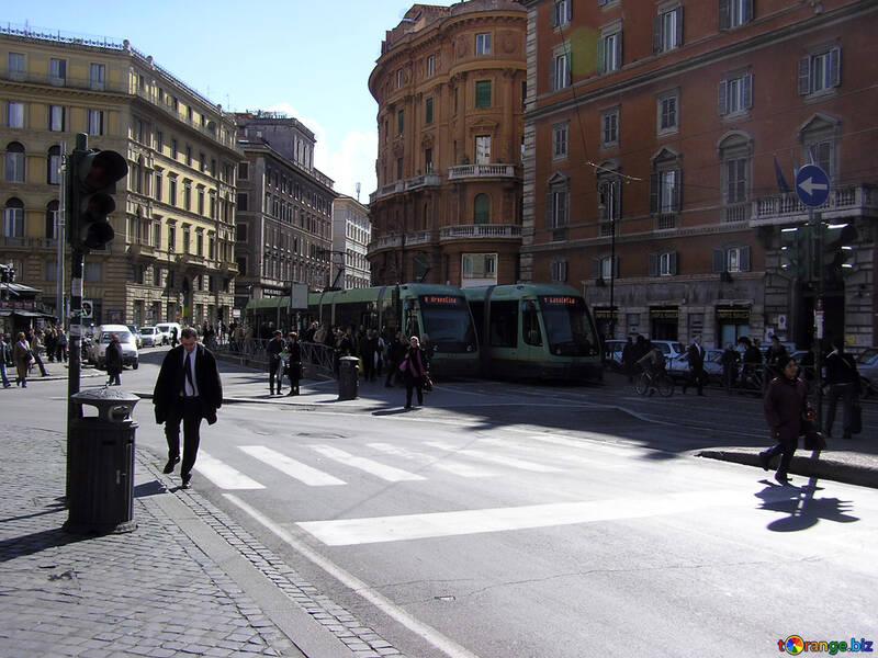 Tram in Rome №12460