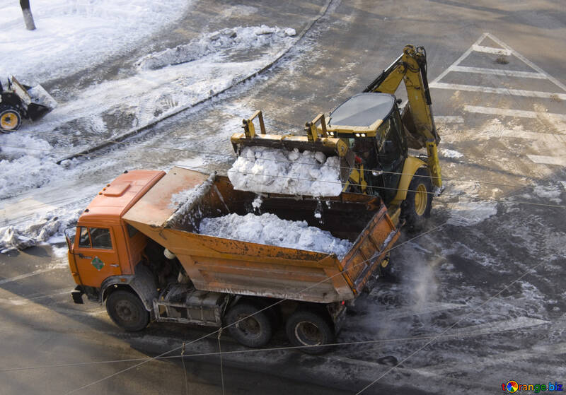 Snow removal №12670