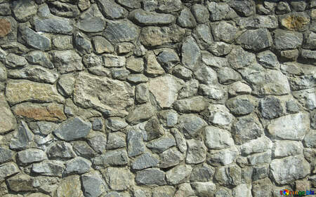 Texture.Stone wall. №12748
