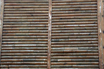 Bamboo blinds №13961