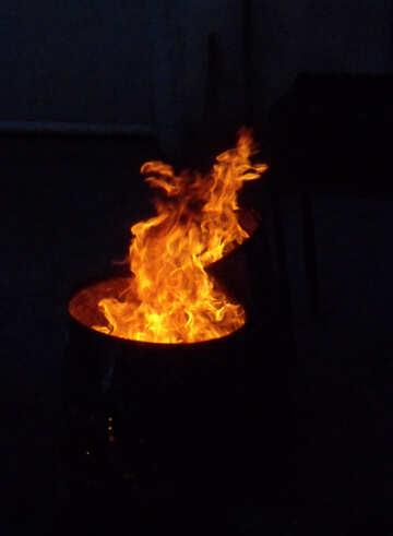 Barrel Fire №13626