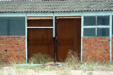 Ворота въезд текстура №13758