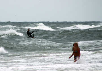 Water sports on the beach №13451