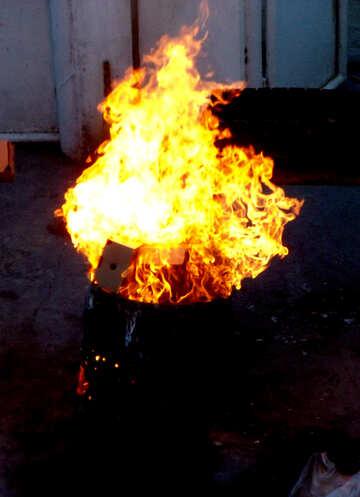 Fire debris №13627