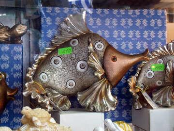 Fish metal №13612