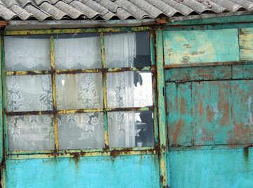 Texture downtrodden window №13795