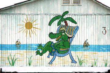 Marine graffiti №13974