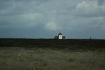 Lonely house in the distance №13190