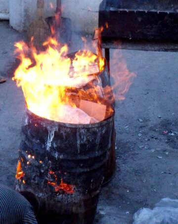 Garbage burning №13522