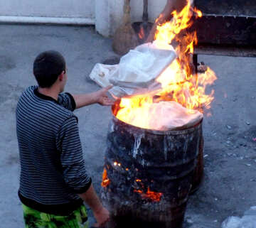 Verbrennung №13492