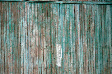 Faded paint on wood №13965