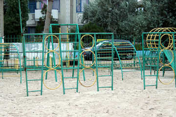Playground for children to play №13662