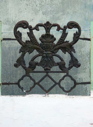 Decorative item made of metal №13389