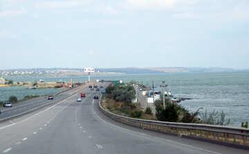 The road along the sea №13356