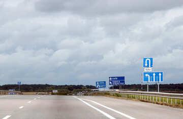 Empty road №13338