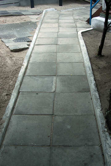 Pavement track of the plates №13969