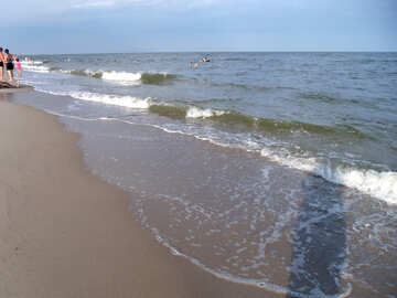 Warm sea №13657