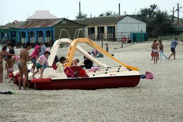 Persone sulla spiaggia №13427