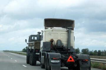 Truck broke down №13207