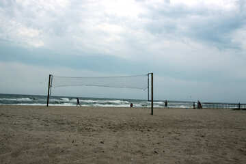 Volleyball at the beach №13700