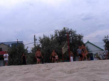 Sports on the beach №13509