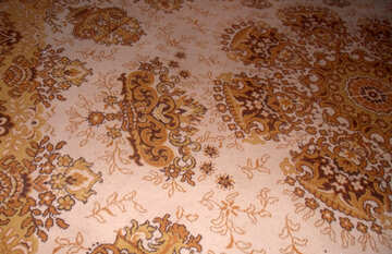 Old carpet.Pattern №13997