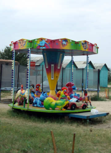 Children`s Carousel №13706