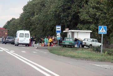 Trade at bus stops №13317