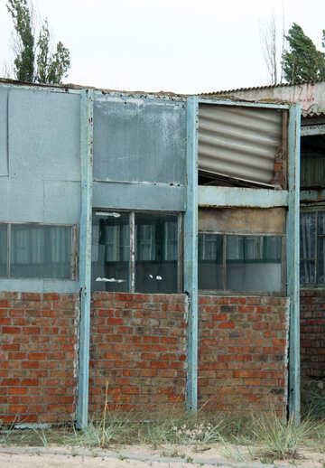 Crumbling wall texture №13777