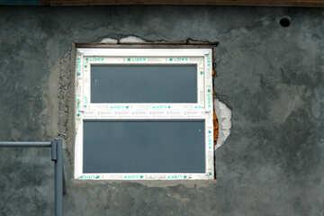 Новое окно в старой стене текстура №13726