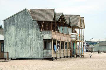 Wooden hotel №13169
